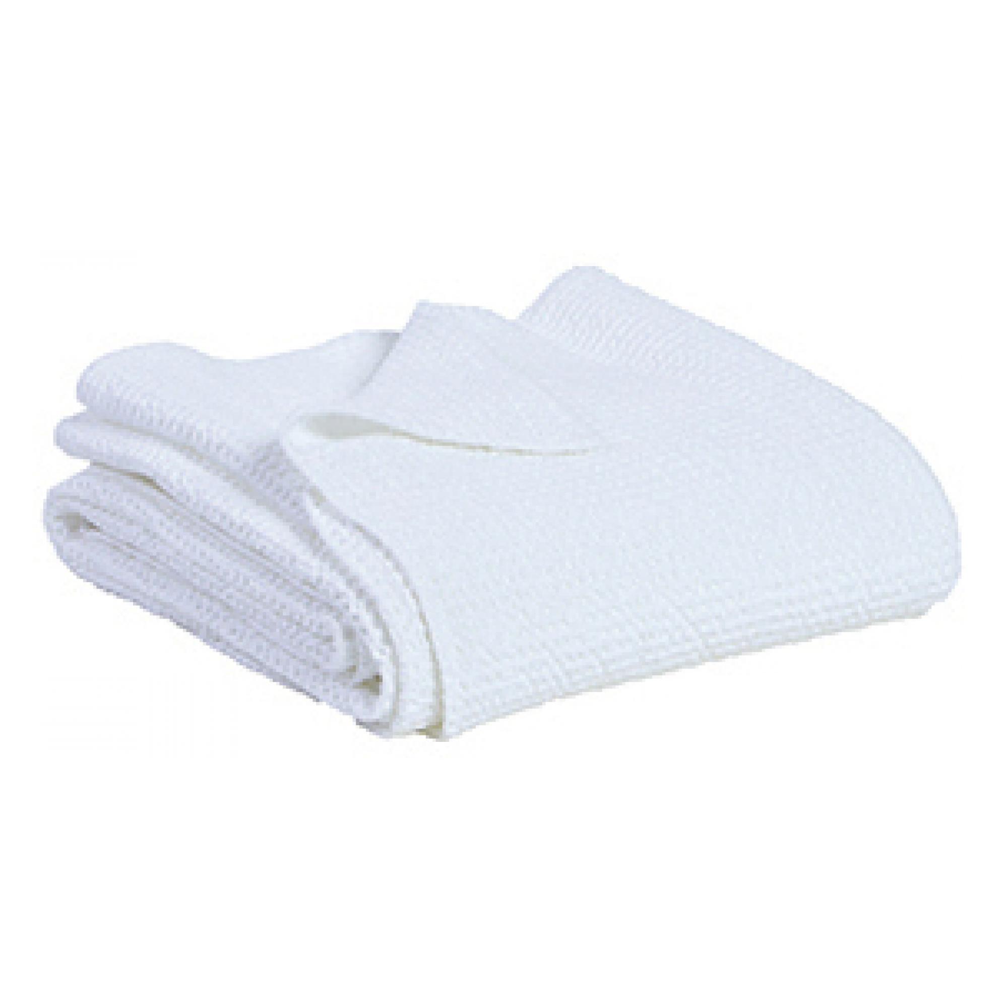 Jete en coton blanc 240 x 260