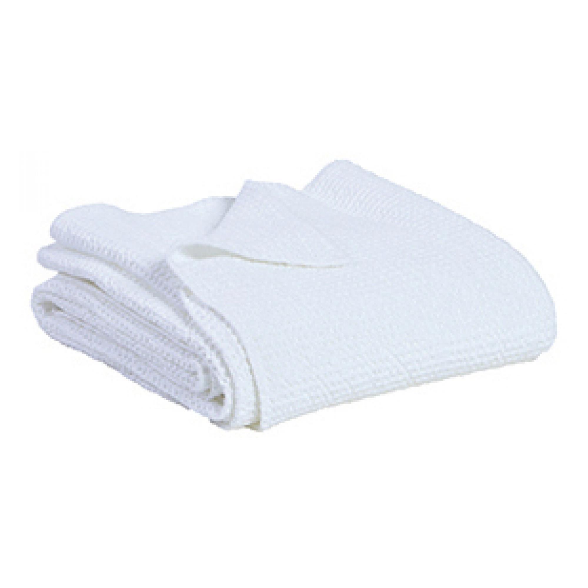 Jete en coton blanc 260 x 260