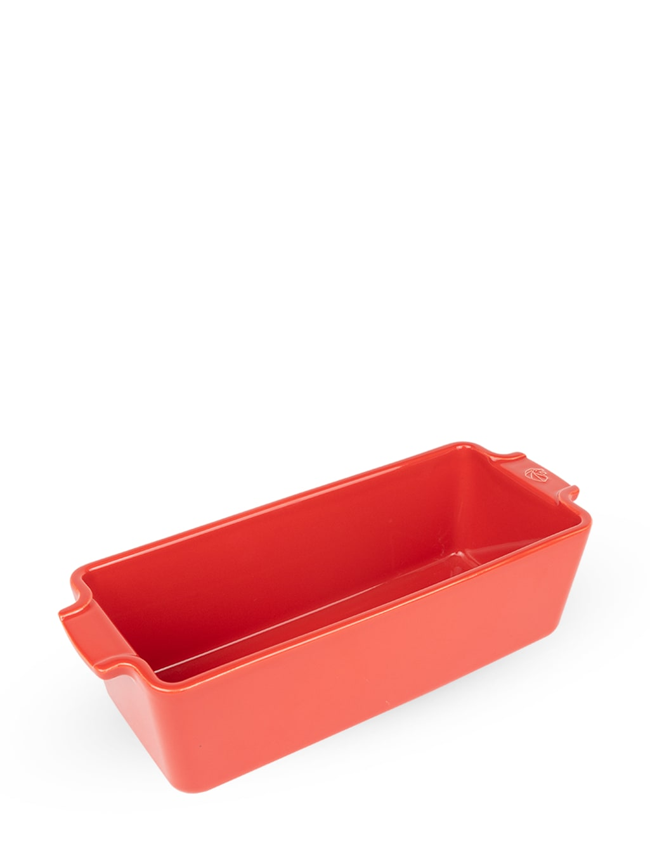 Moule à cake en céramique rouge L31cm