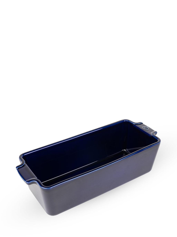 Moule à cake en céramique bleue L31cm