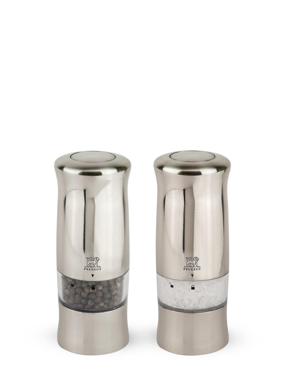 Duo de moulins à poivre et sel électriques H14cm