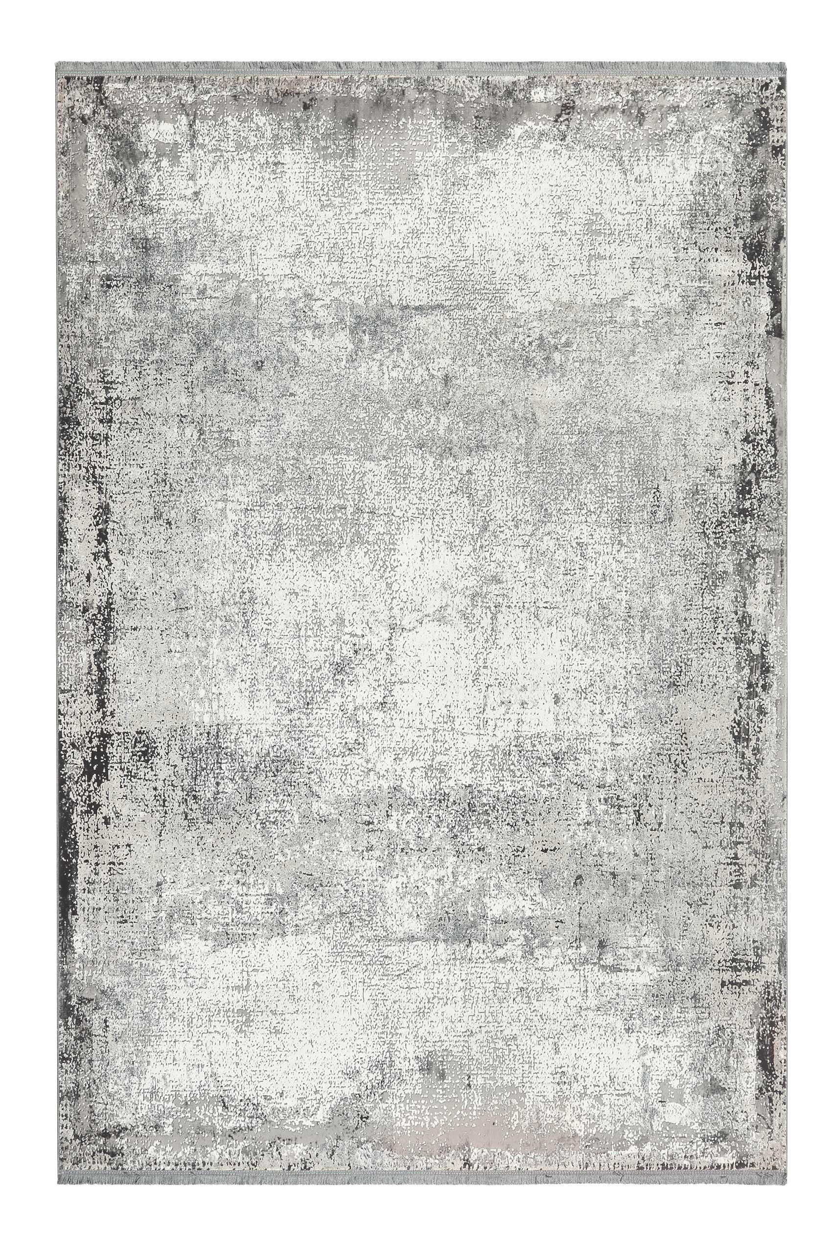 Tapis tissé fin Vintage beige gris pour salon, chambre 170x120