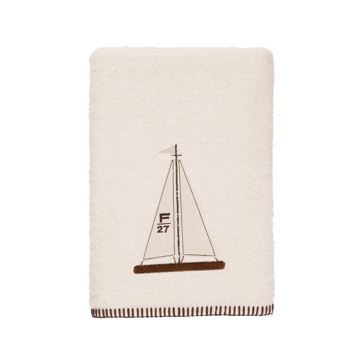 ANTHINEA - Drap de bain en coton biologique  Ecru 70x140 cm