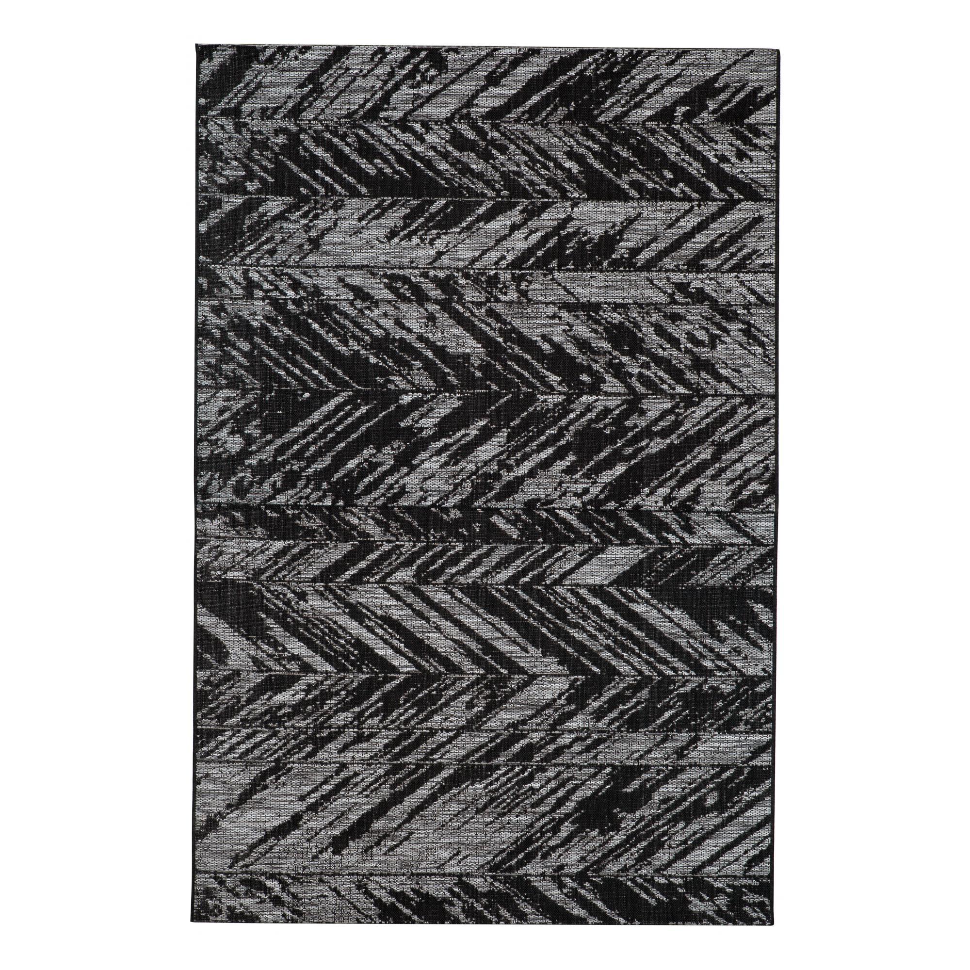 Tapis  en polypropylène noir 200 x 290