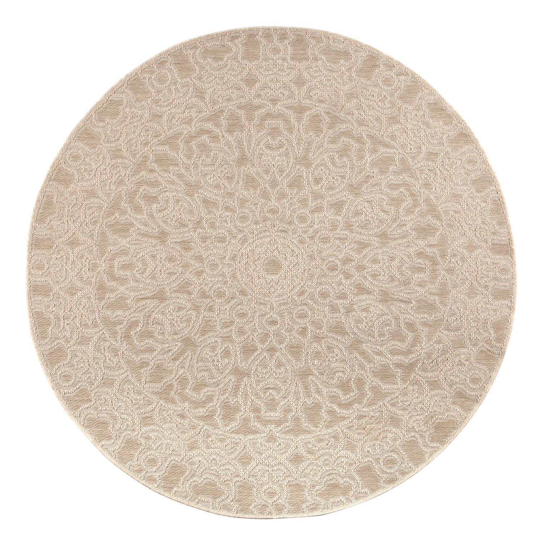 Tapis  en polypropylène lin diamètre 160