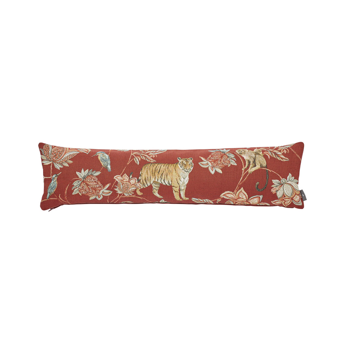 Coussin indiennes made in france rouge 25x90