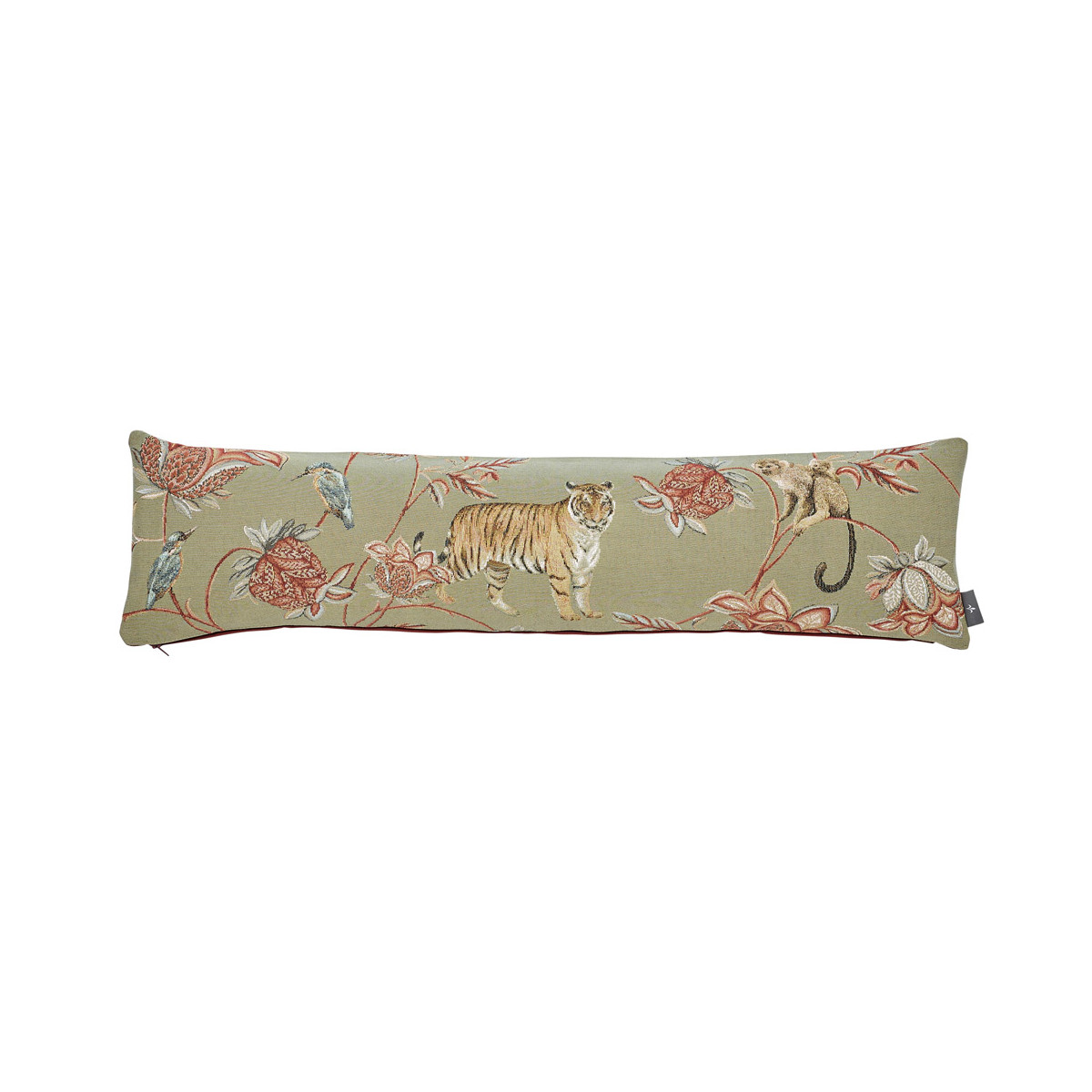 Coussin indiennes made in france gris 25x90