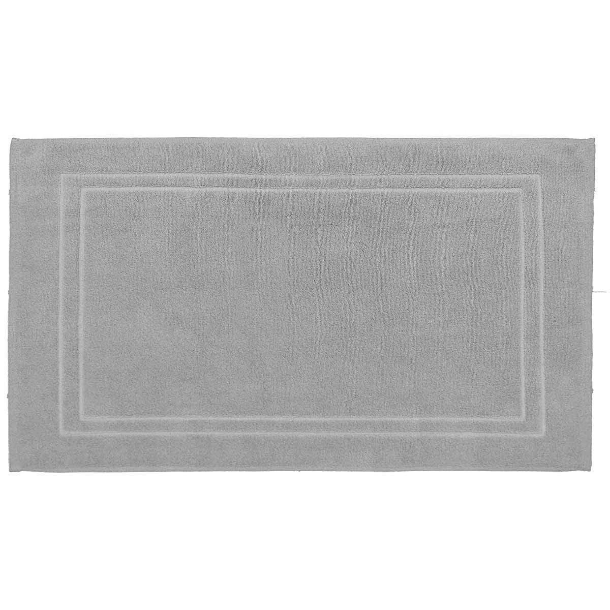 LUXURY - Tapis de bain 900gr/m²  Gris Perle 50x80 cm