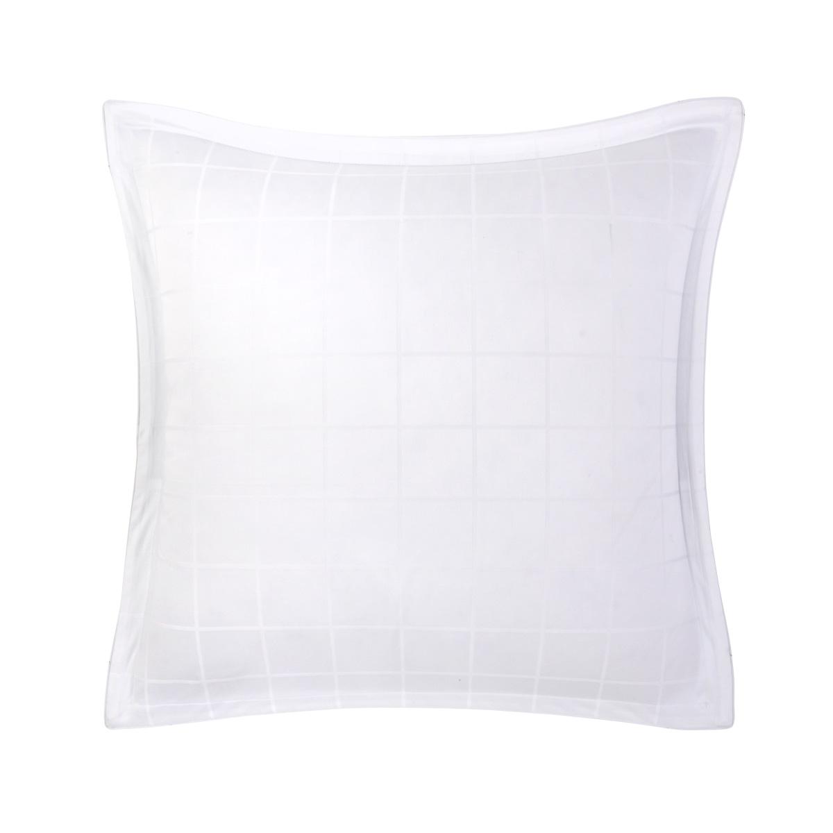 Taie d'oreiller satin Blanc 65 x 65 cm
