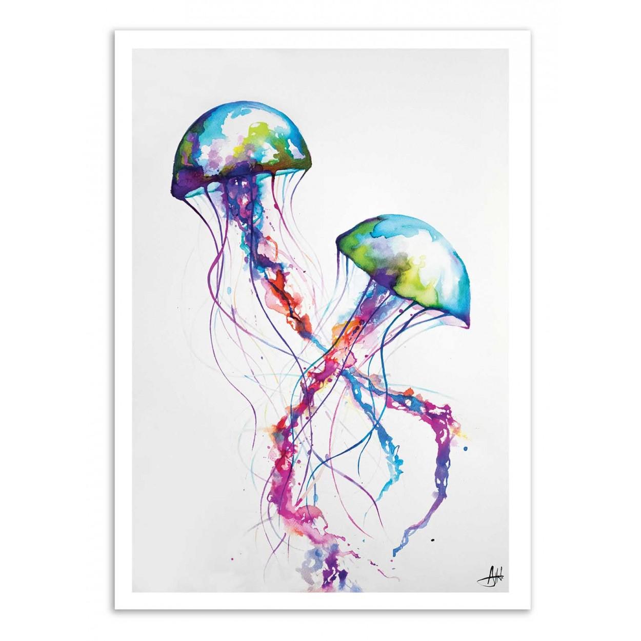 NARASUMAS -  Affiche d'art 50 x 70 cm