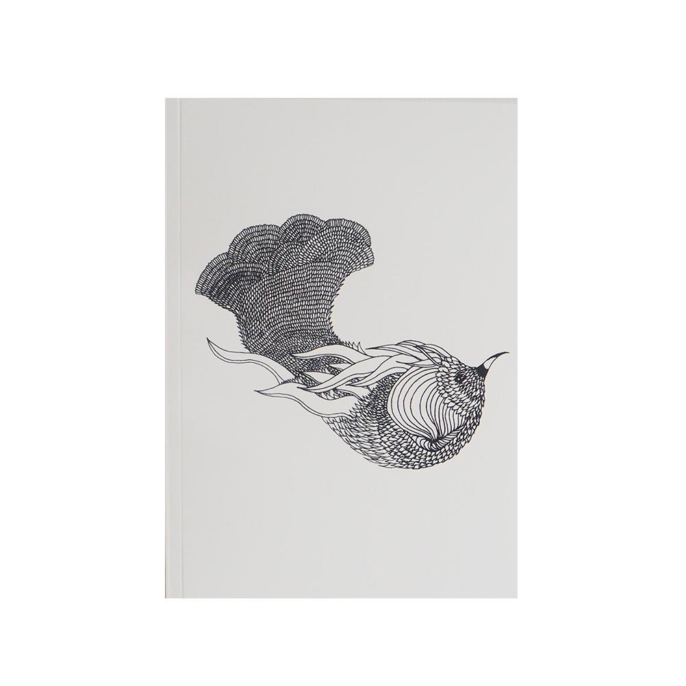 OISEAU DE PARADIS - Carnet à dessin imprimé animal