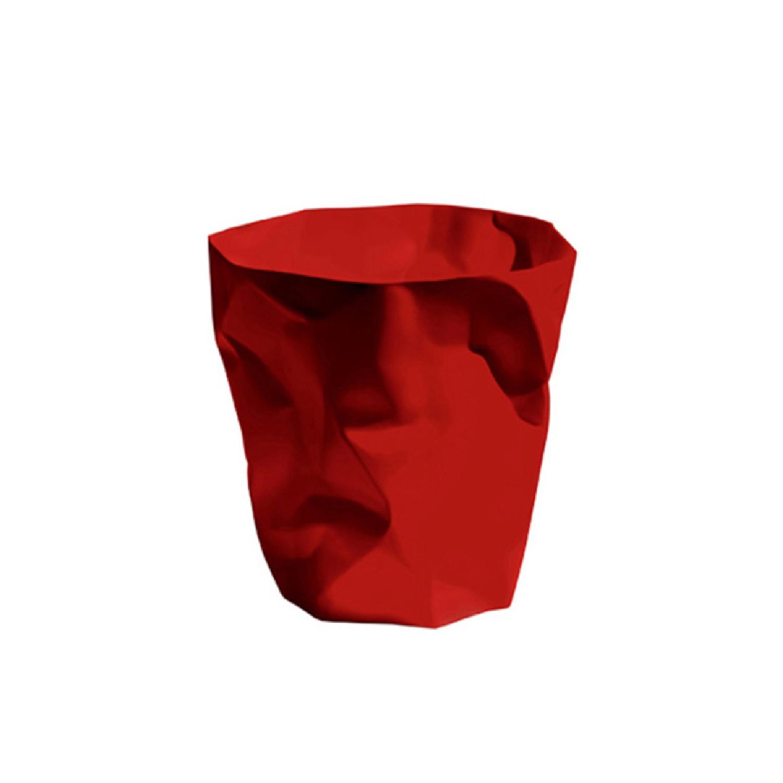 Pot à crayons design rouge