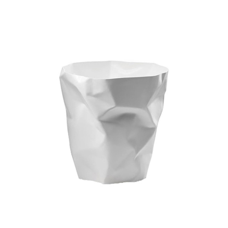 Pot à crayons design blanc