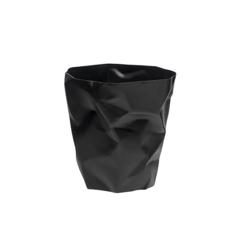 Pot à crayons design noir