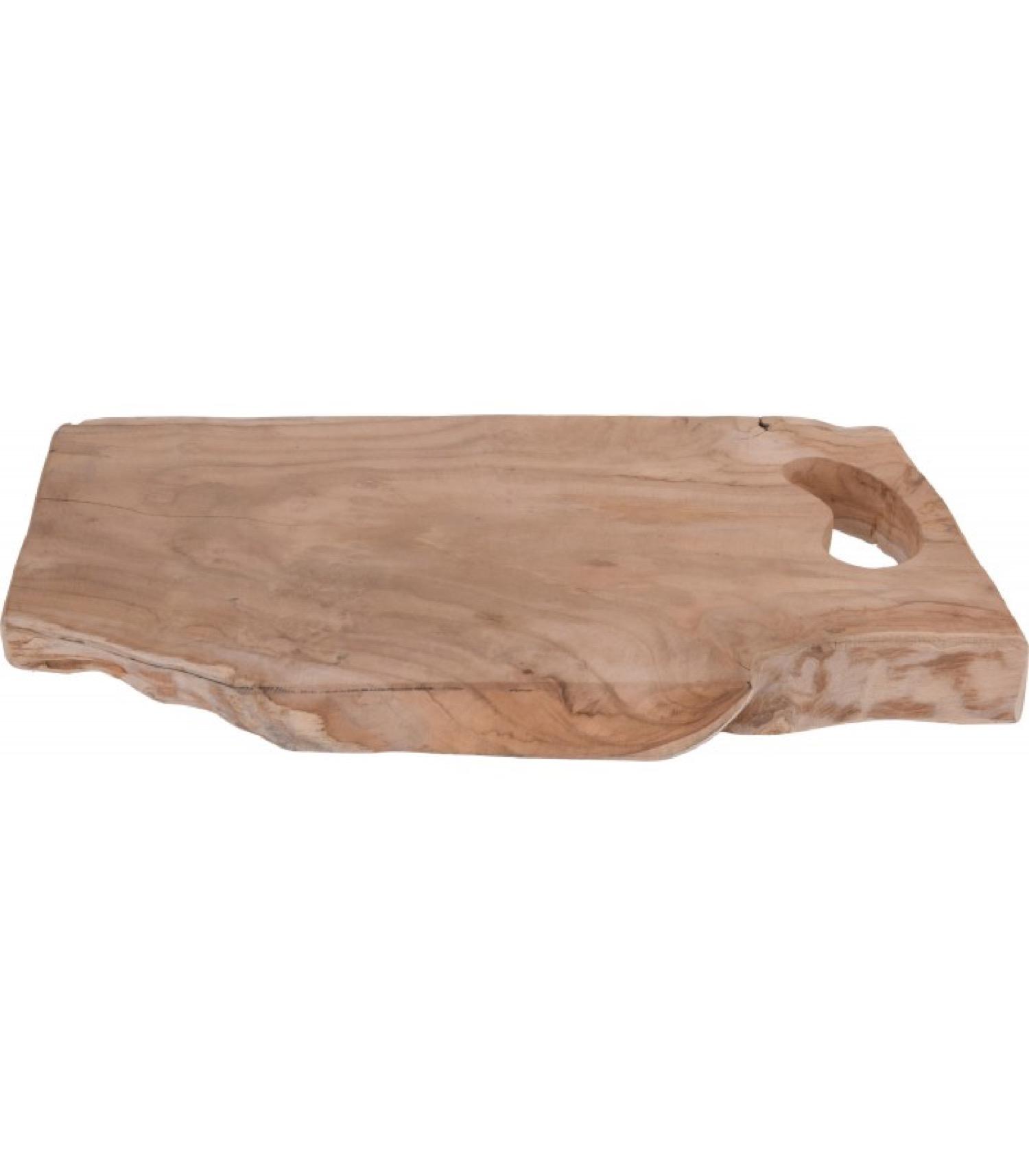 Planche à découper rectangulaire en teck