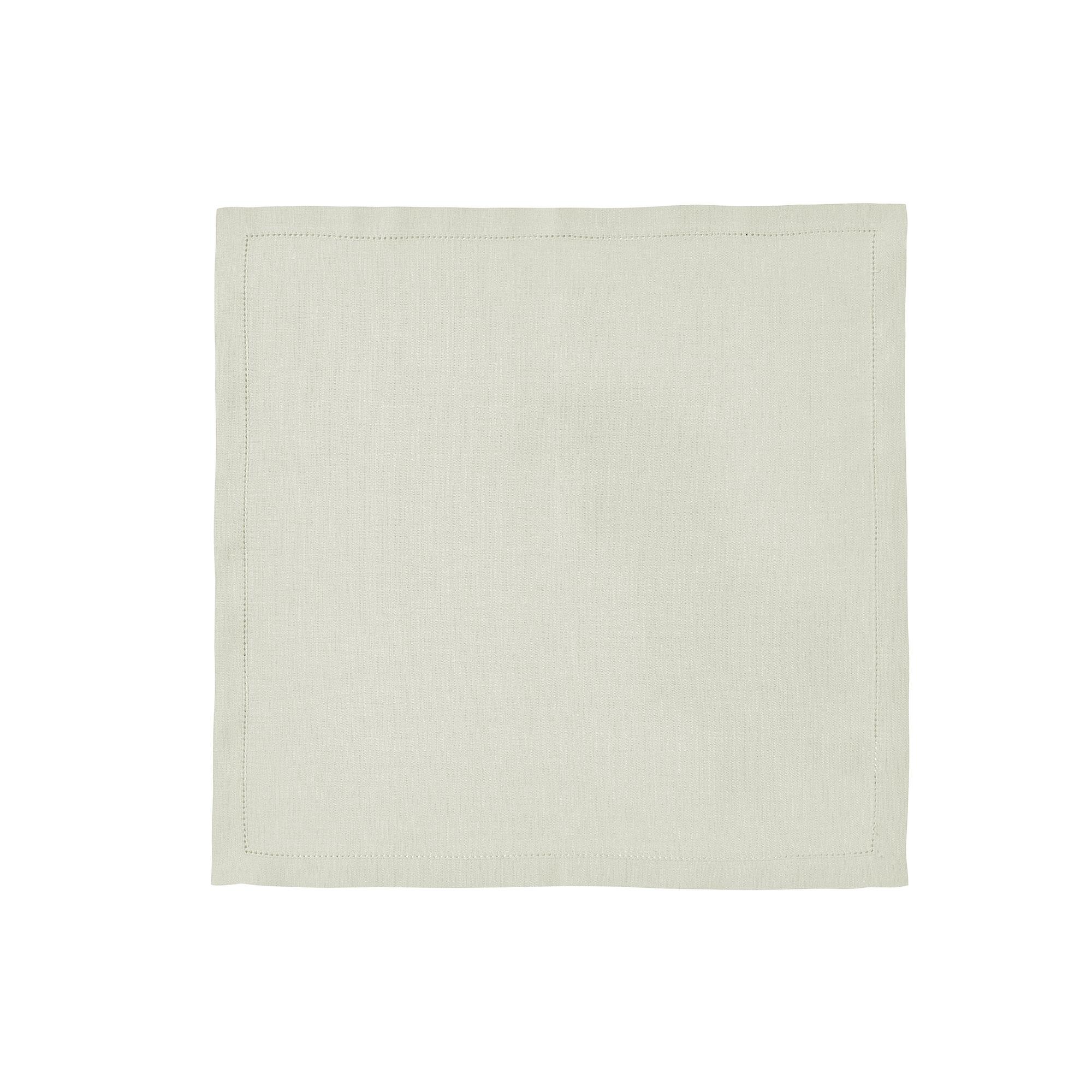 Serviette de table en lin naturel 45x45