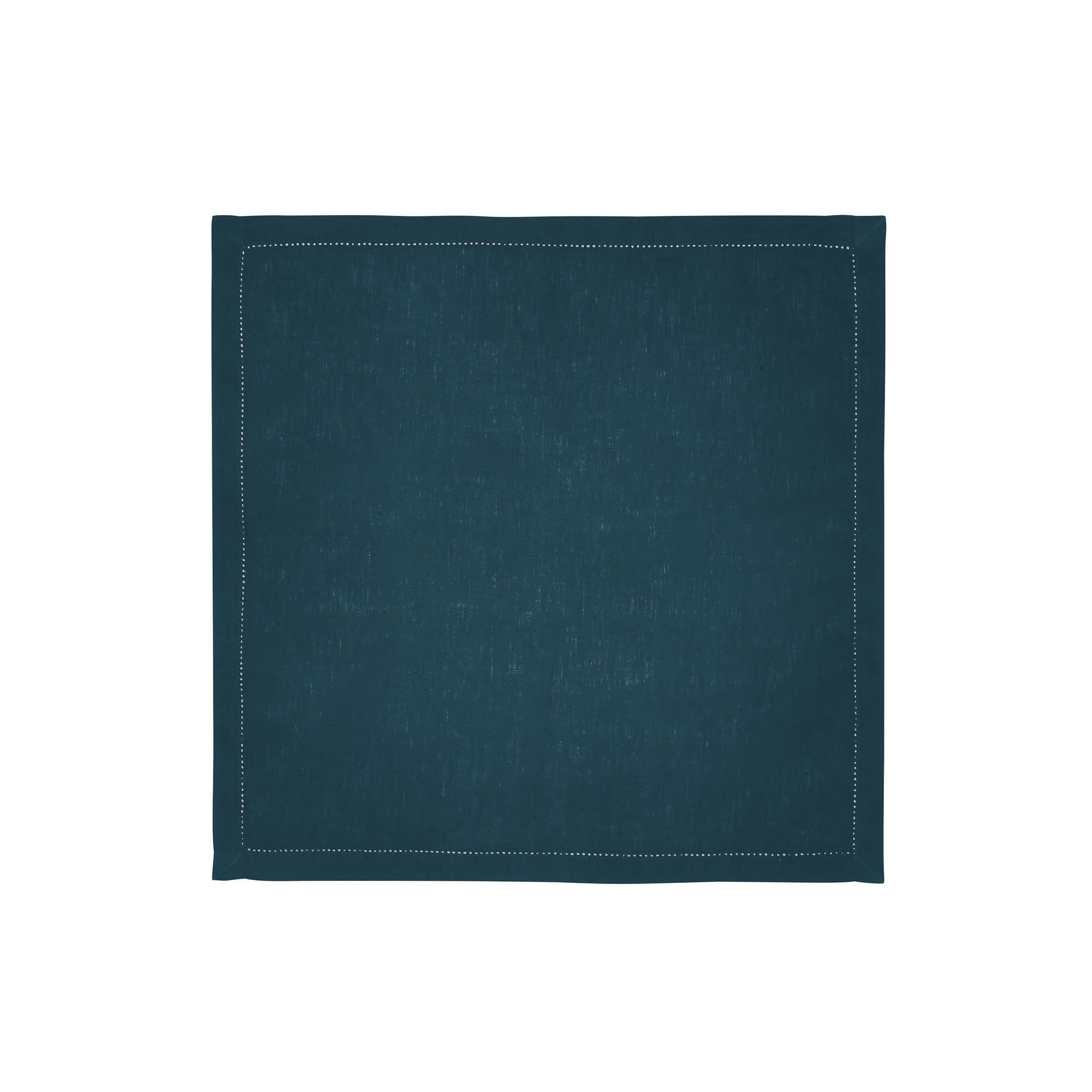 Serviette de table en lin vert 50x50