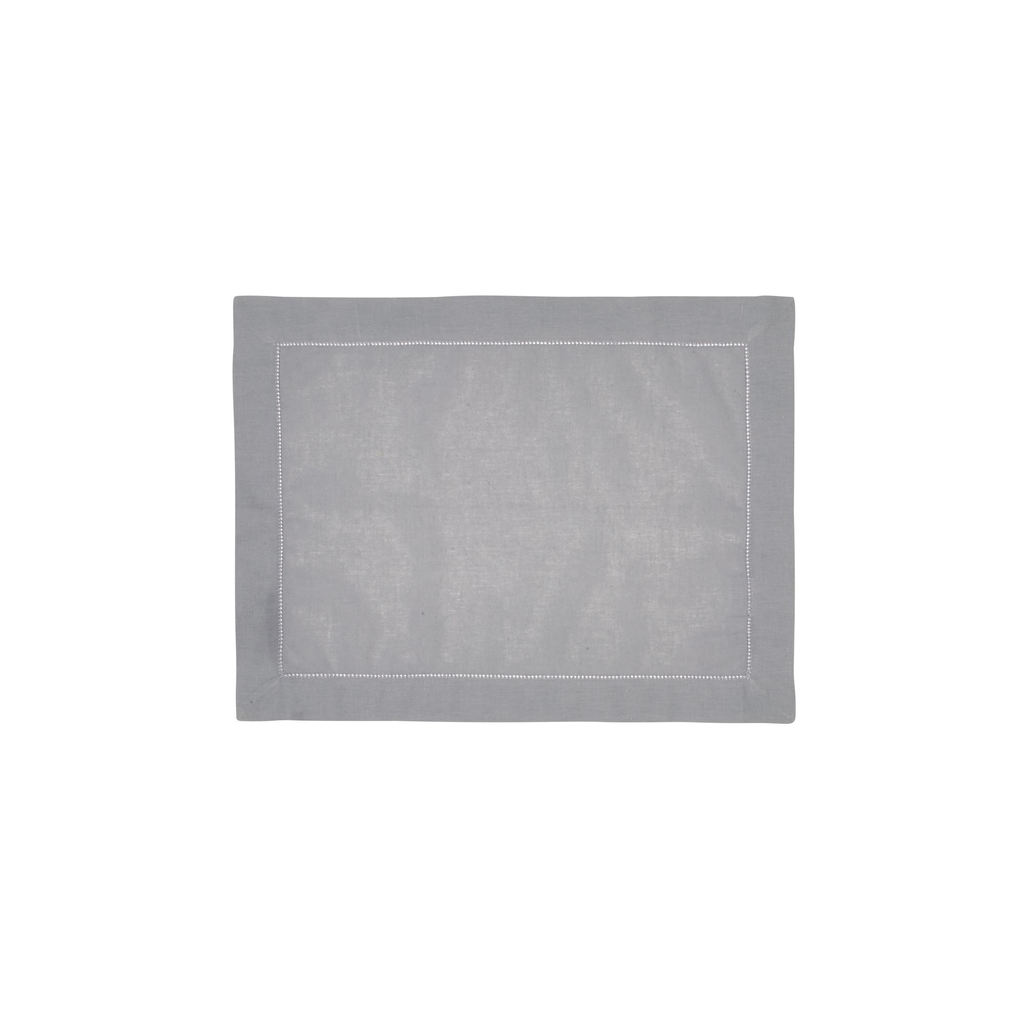 Set de table en lin gris 37x50