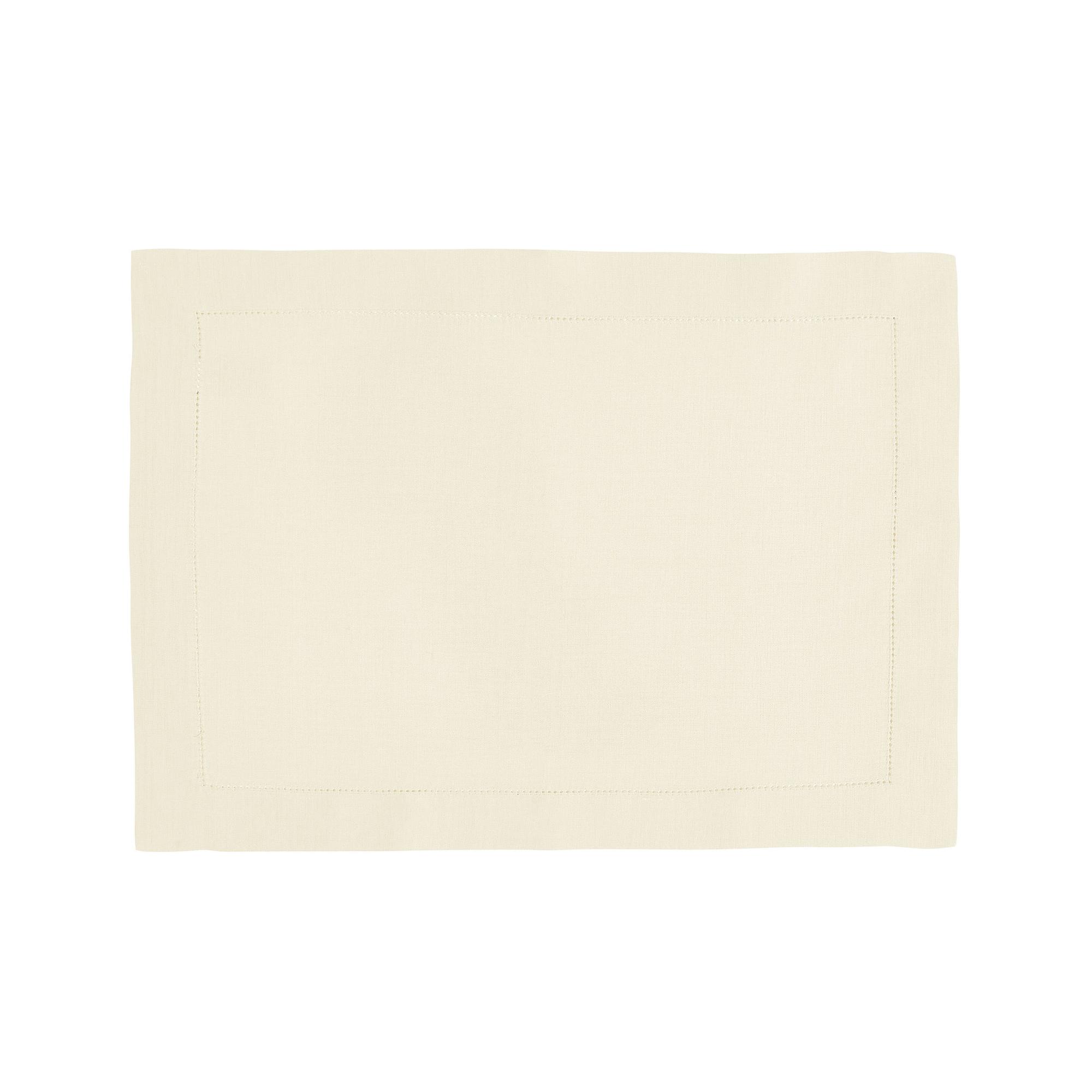 Set de table en lin blanc 37x50