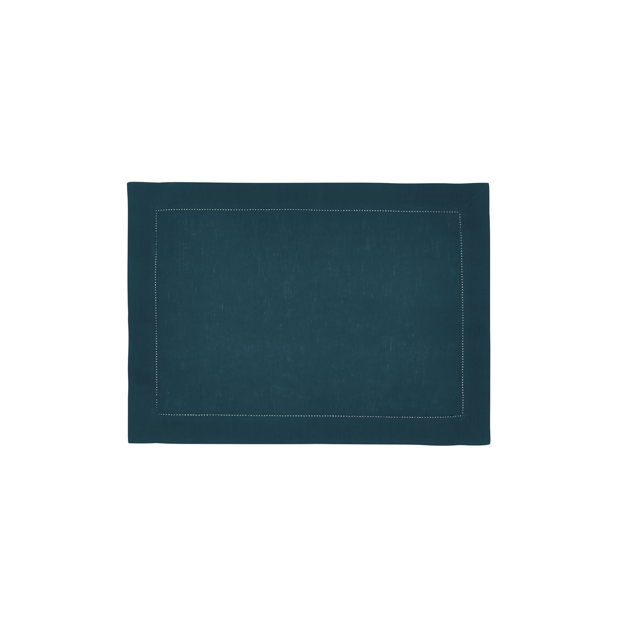 Set de table en lin vert cyprès 37x50