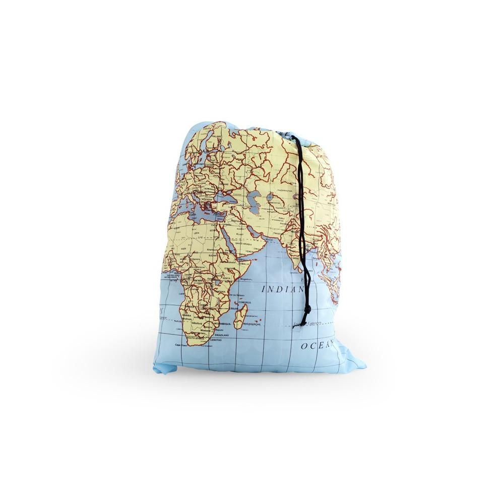 Sac baluchon carte du monde