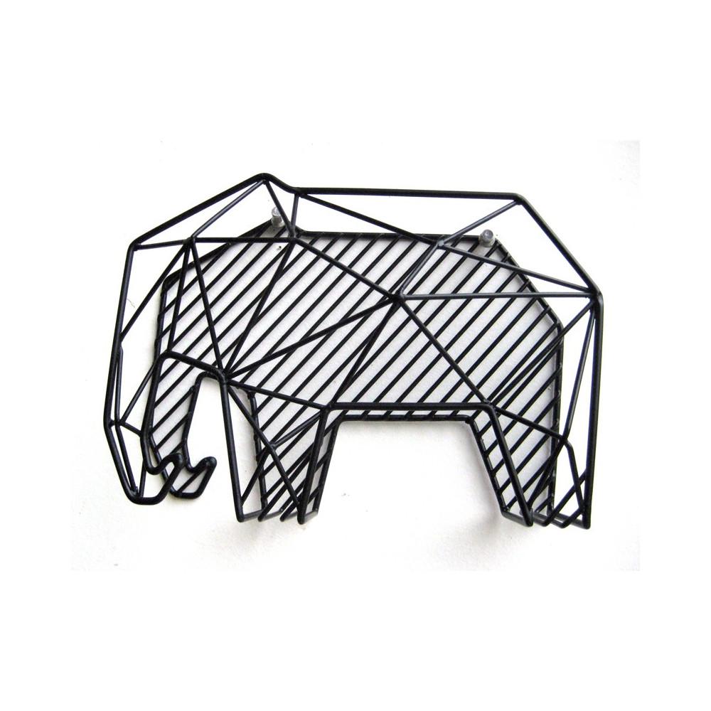 Porte revues éléphant