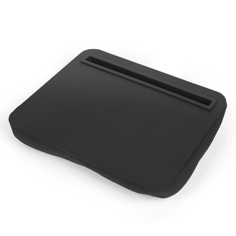 Support coussin pour tablette noir
