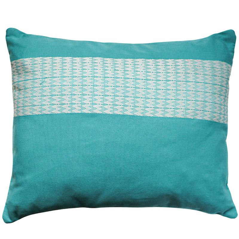Coussin tissé en polyester rouge 30x50 - HRUH HNUE