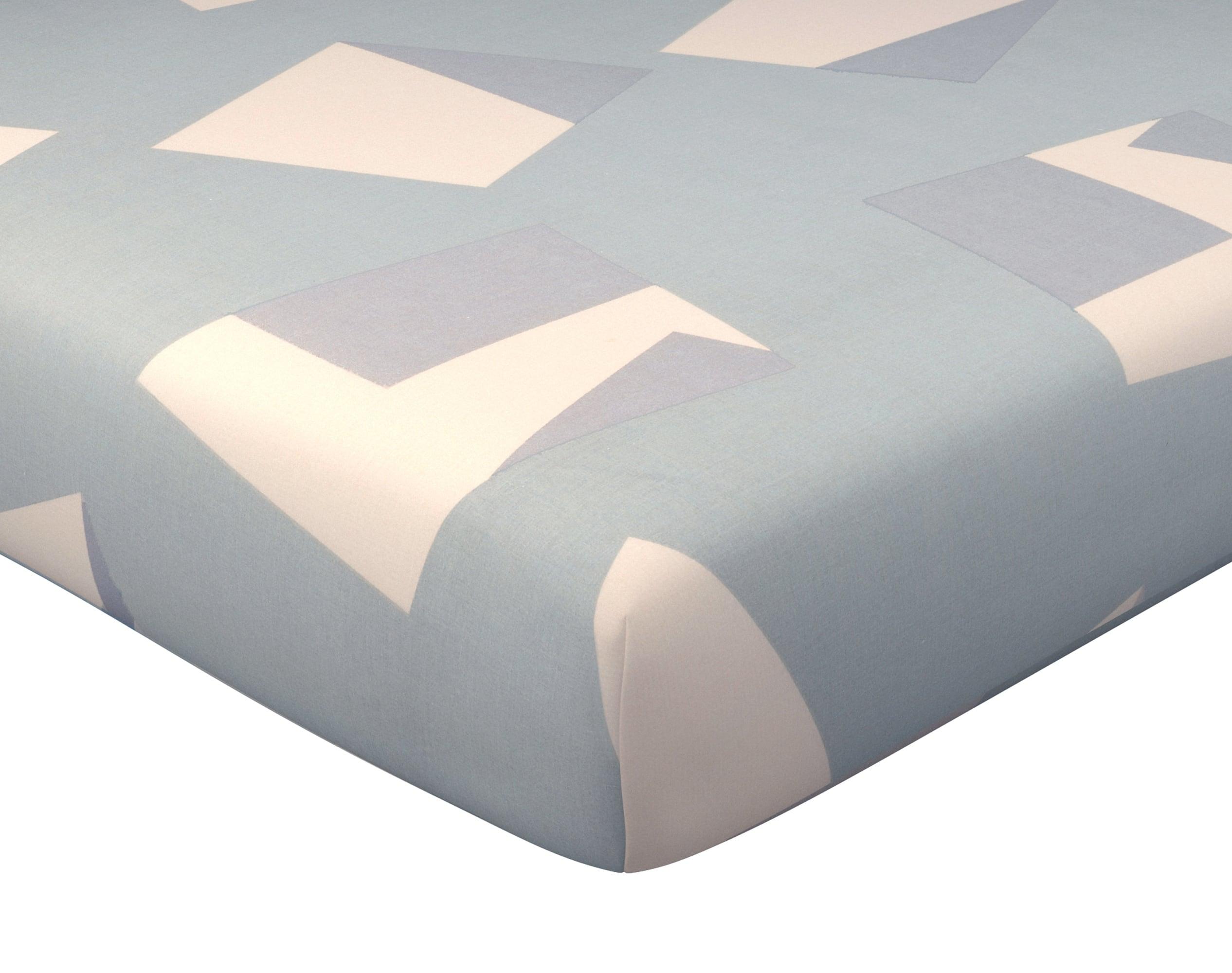 Drap-housse 140x190 en coton gris