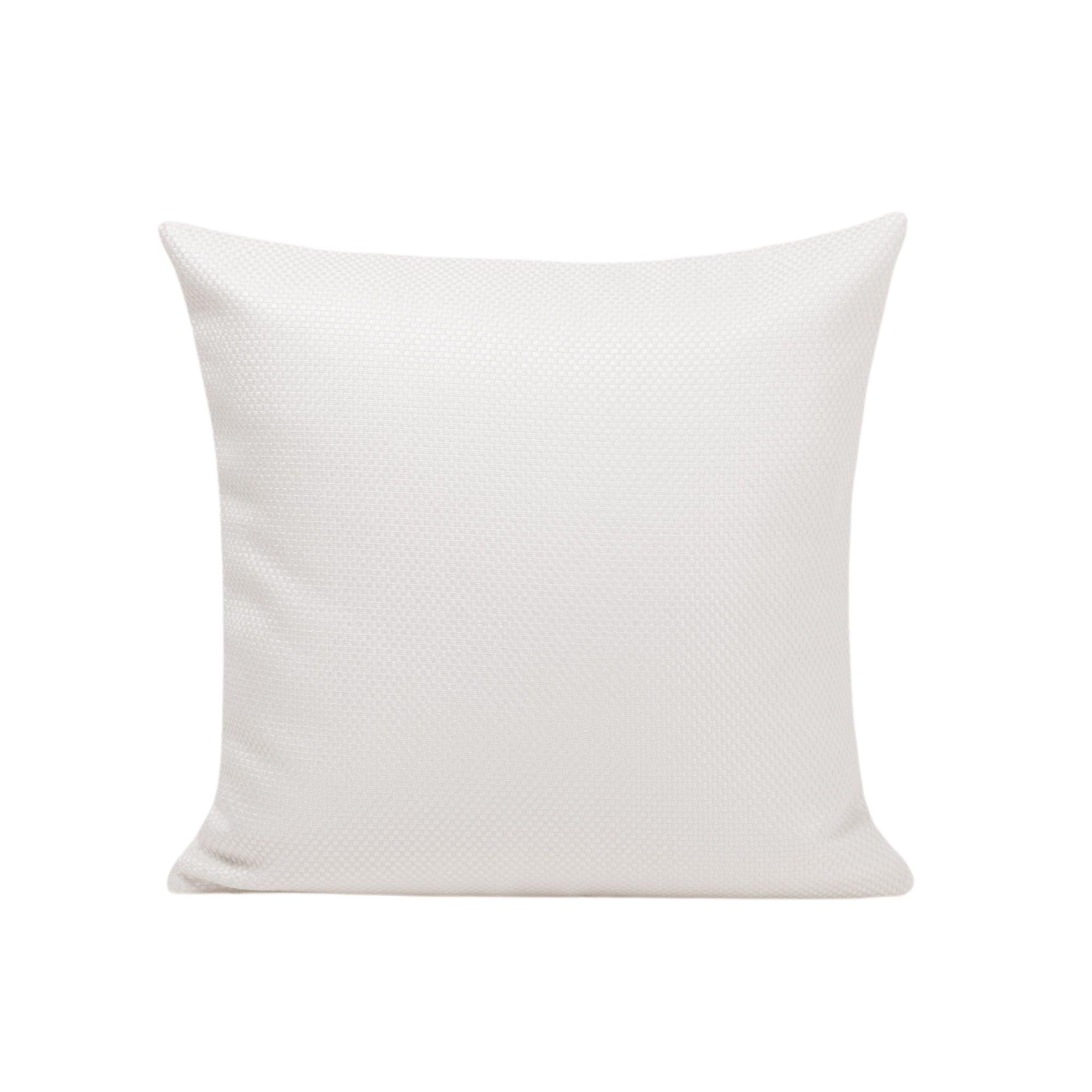 Housse de coussin 50x50 cm Blanc