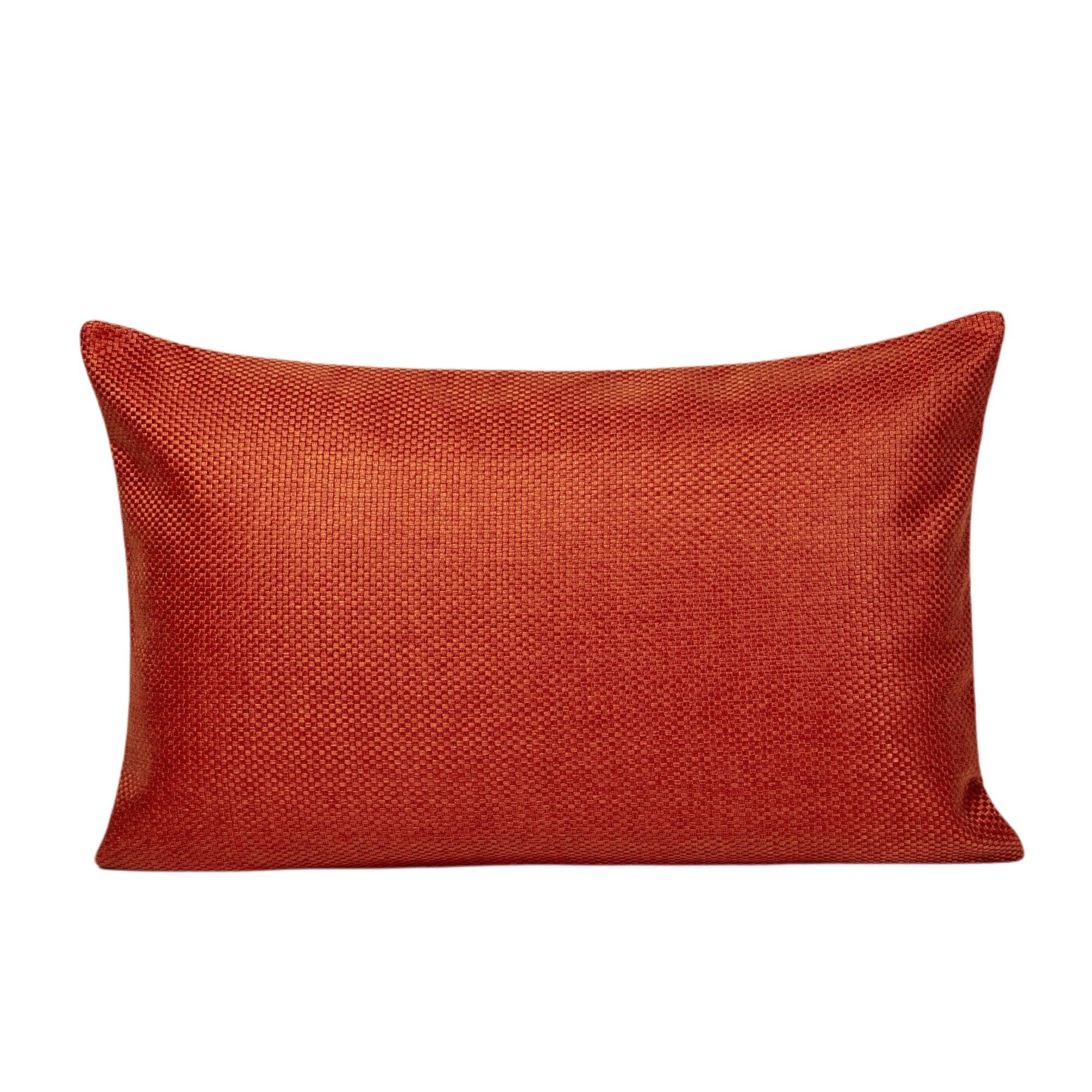 Housse de coussin 45x70 cm Orange Brique