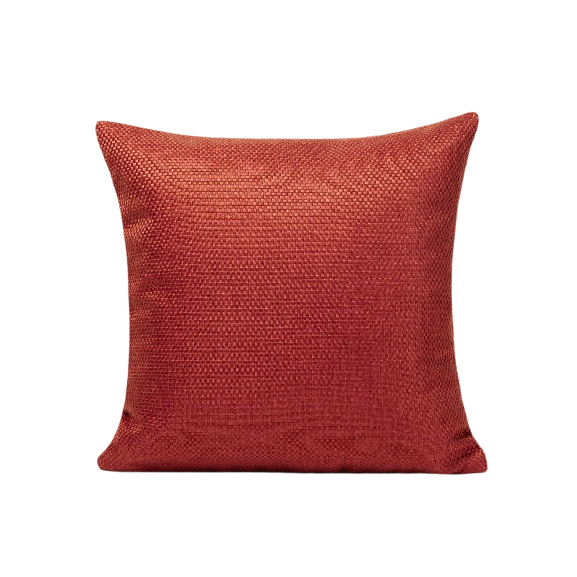 Housse de coussin 50x50 cm Orange Brique