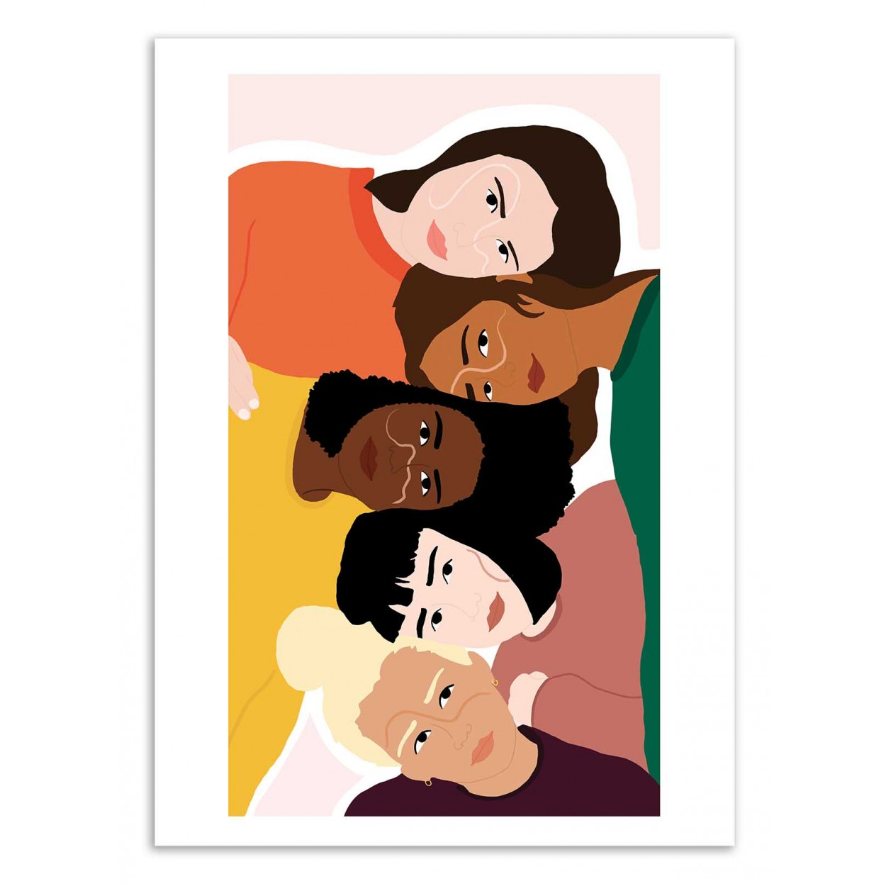 SORORITÉ - Affiche d'art 50 x 70 cm
