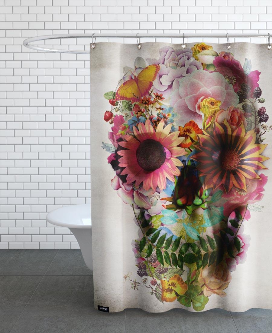 Rideau de douche en polyester en Multicolore/150x200