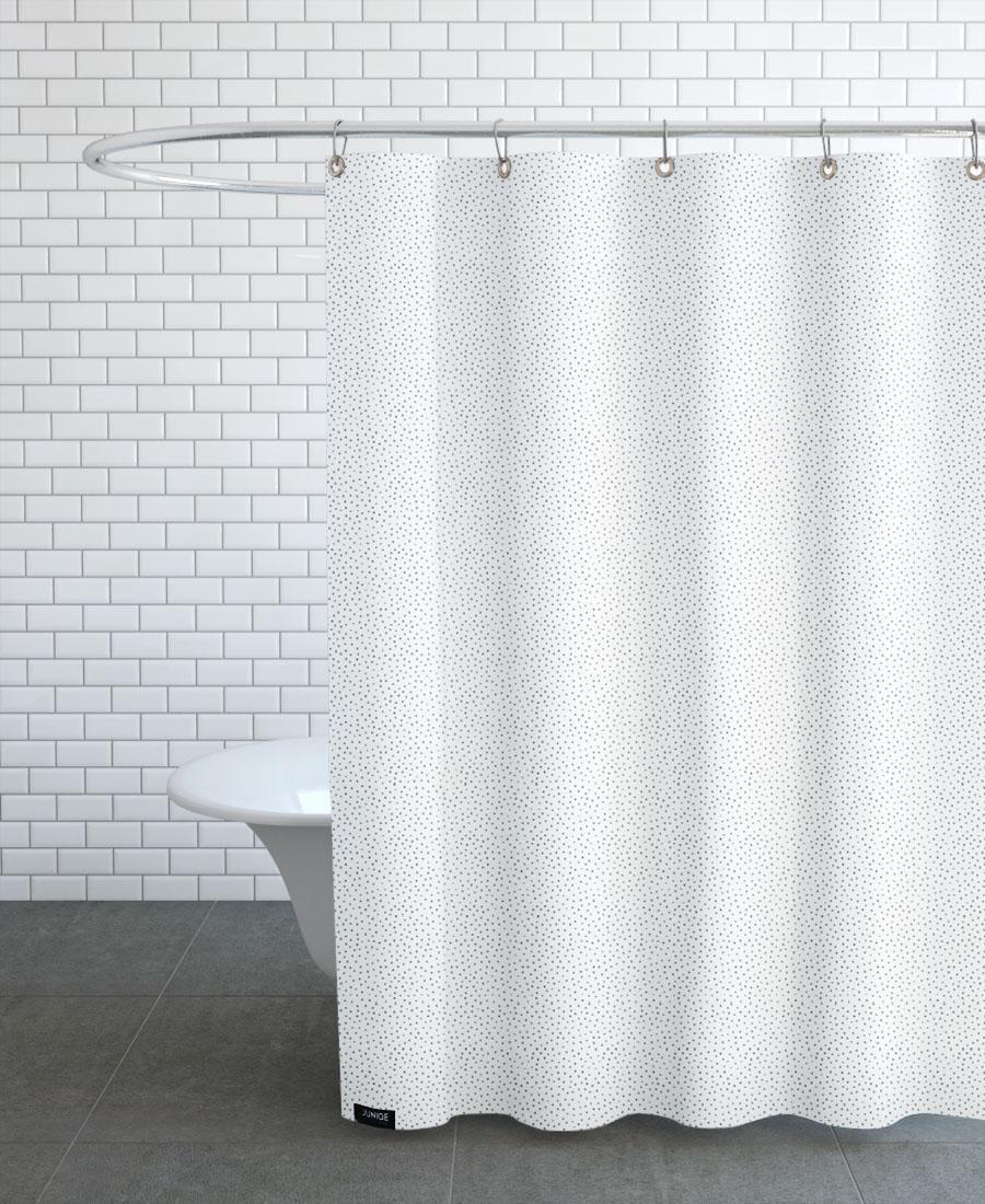 Rideau de douche en polyester en Gris/150x200