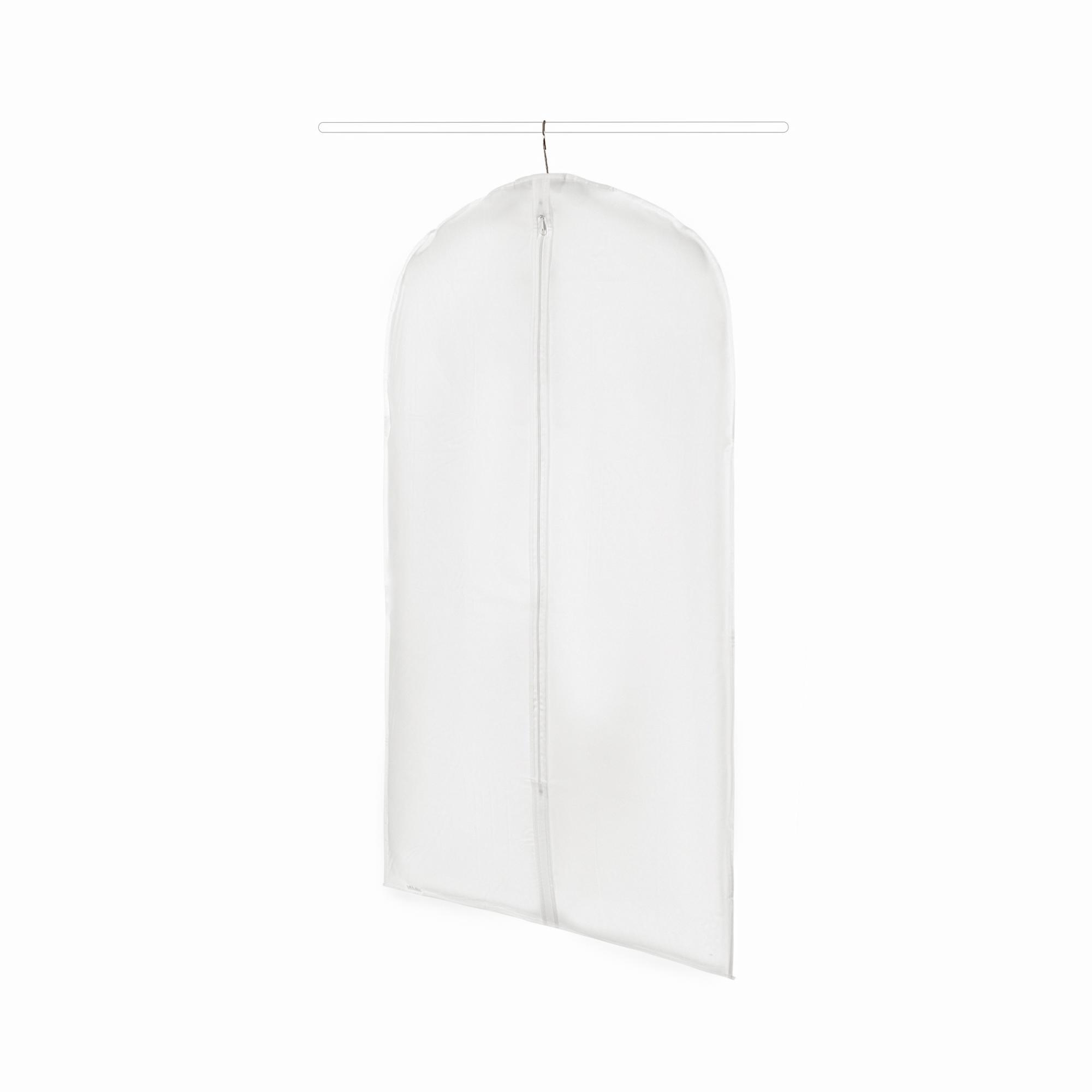 Housse pour vêtements translucide H100cm