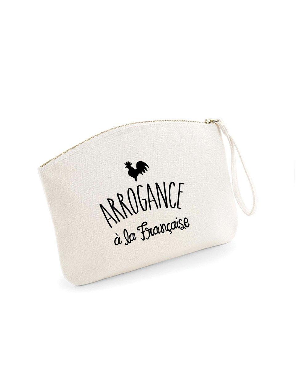 ARROGANCE À LA FRANÇAISE - Pochette Natural en coton