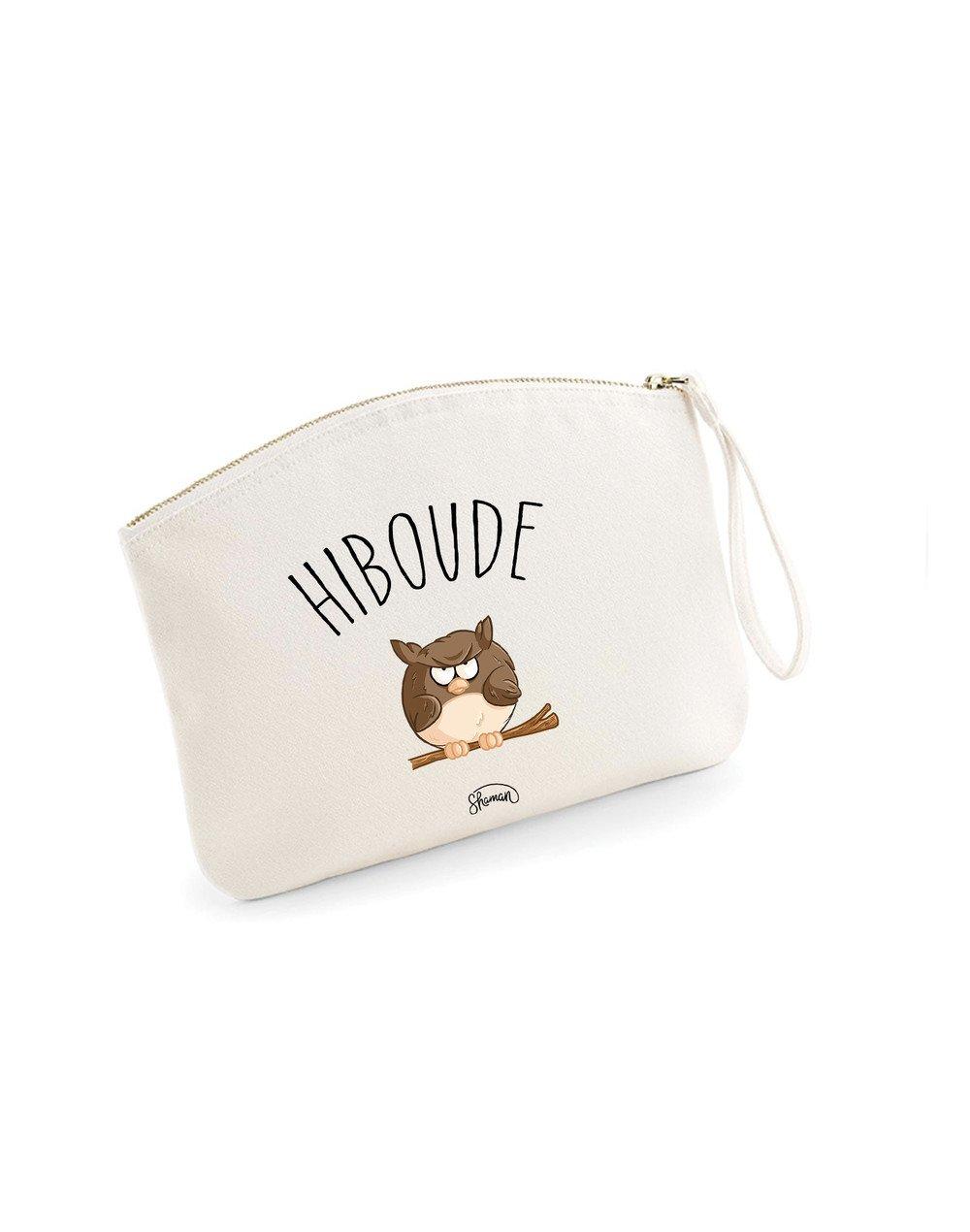 HIBOUDE - Pochette Natural en coton