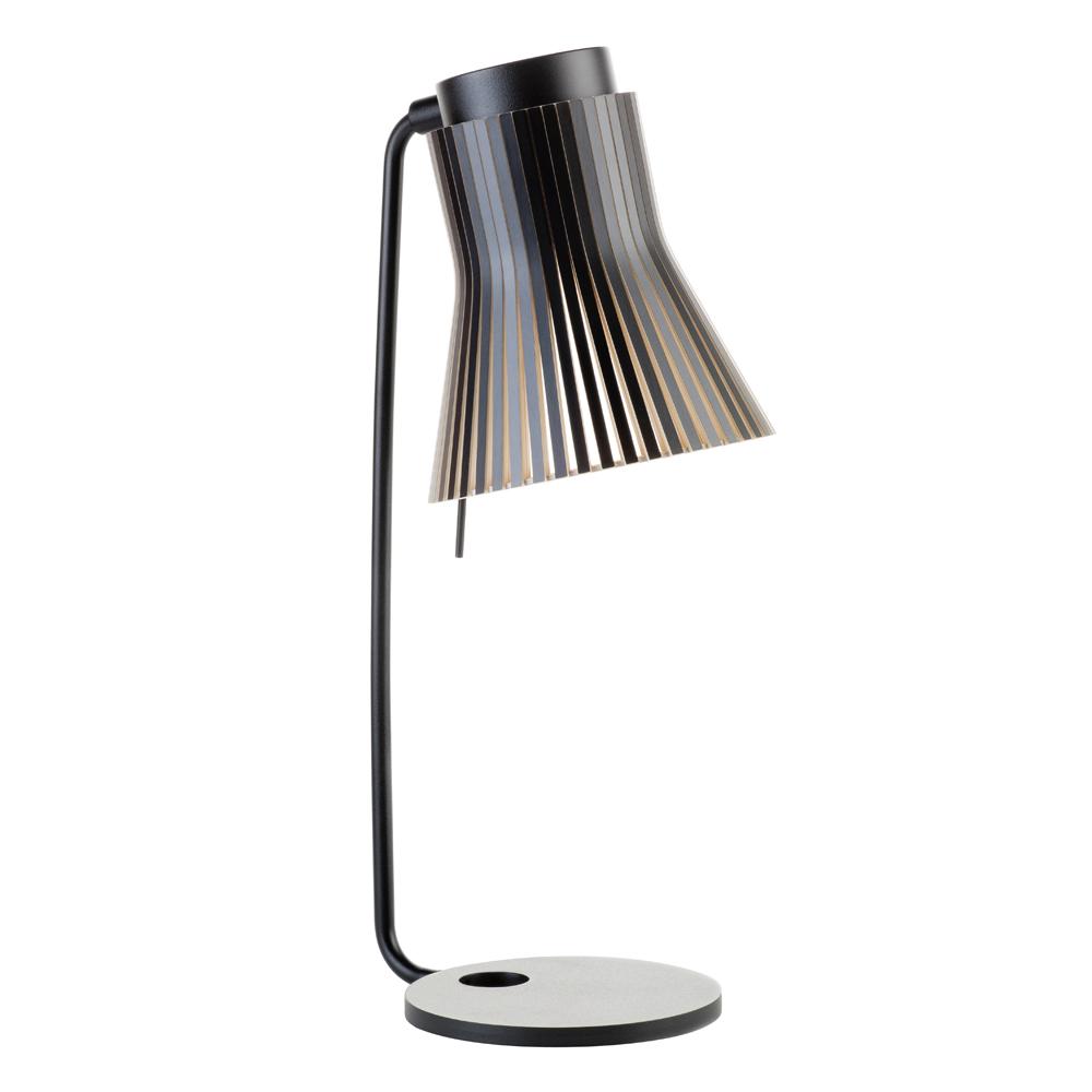 maison du monde Lampe de table en bouleau noir H56cm