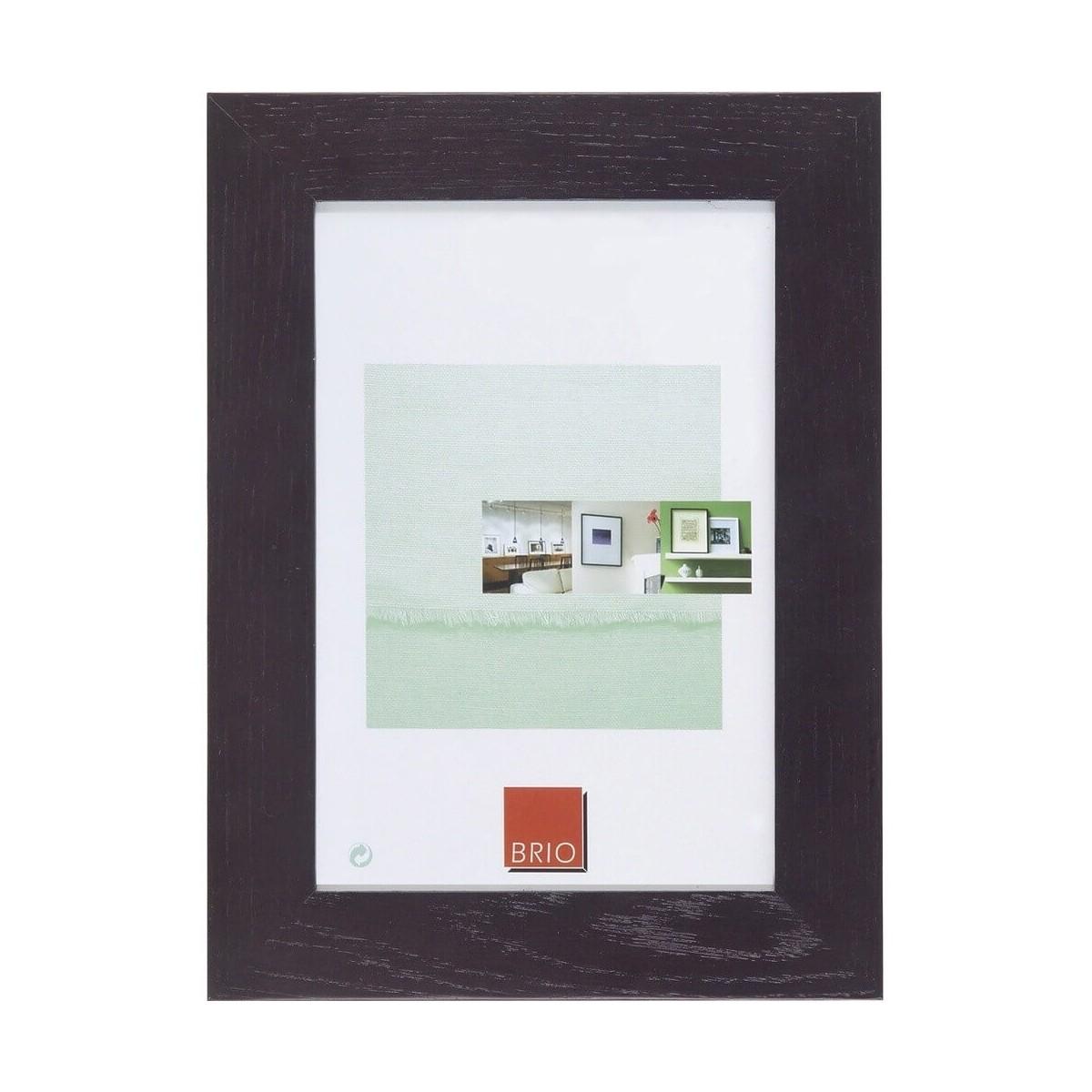 Cadre photo bois massif wengé 13x18