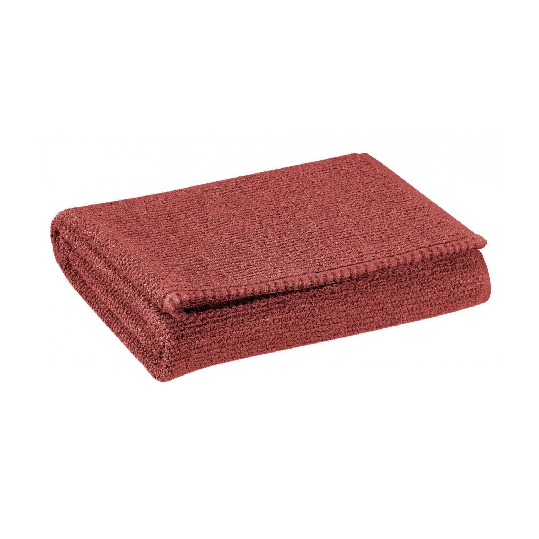 Drap de douche en coton tomette 70 x 130