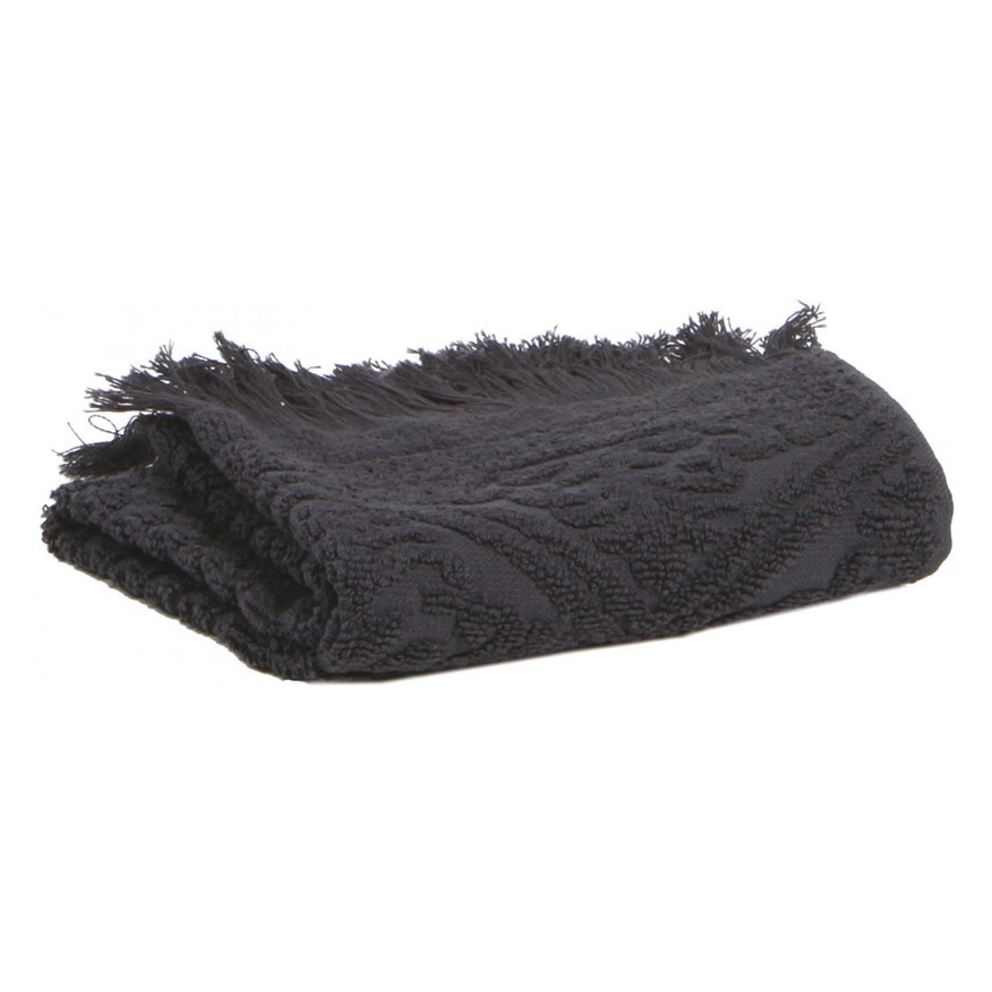 Drap de douche Zoé en coton carbone 70 x 140