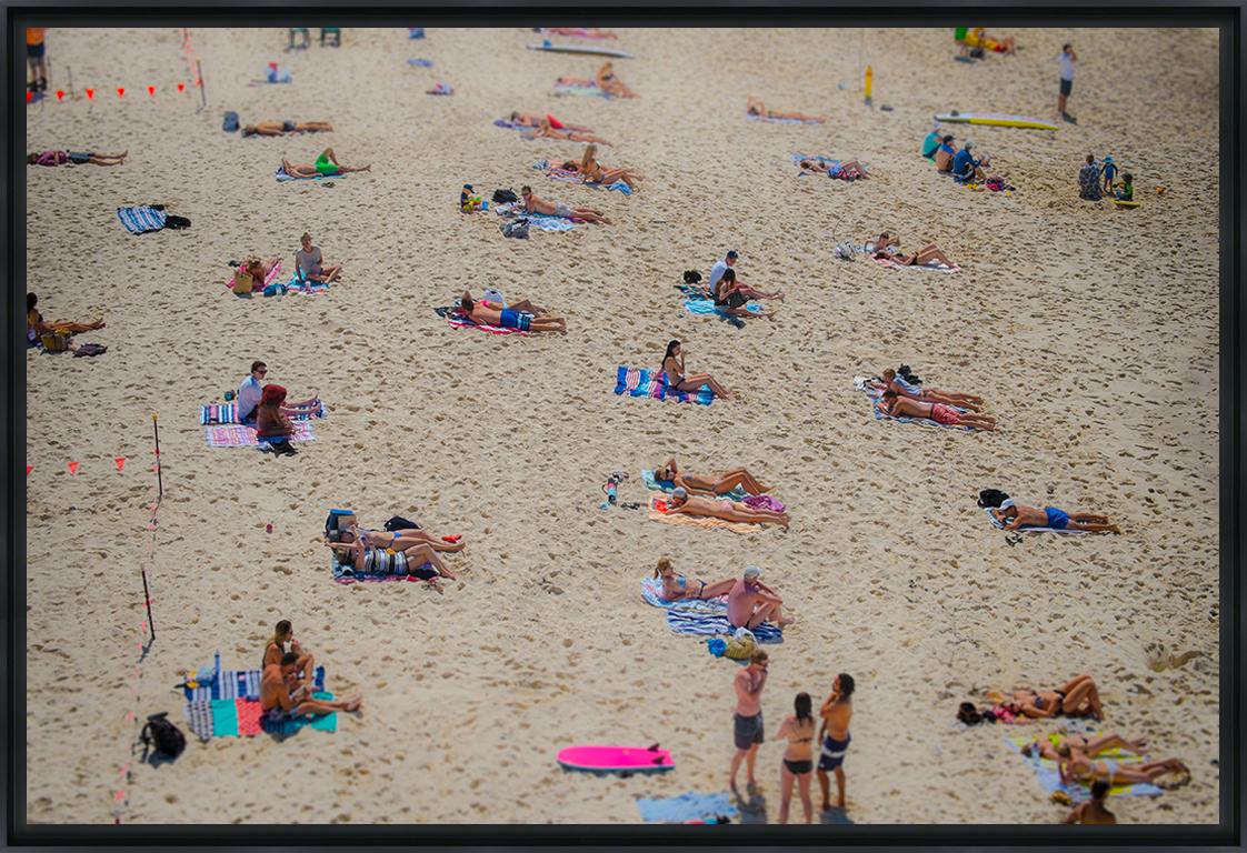 TAMARA BEACH III - Photo encadrée de Cyril Cayssalie 60x40 cm