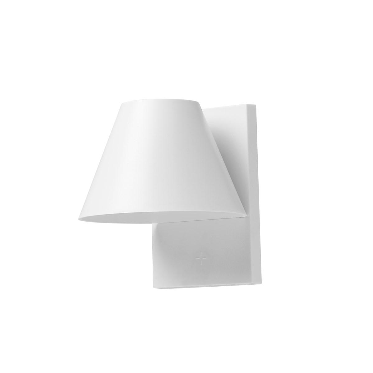 Lampe solaire pour fenêtre en ABS Blanc