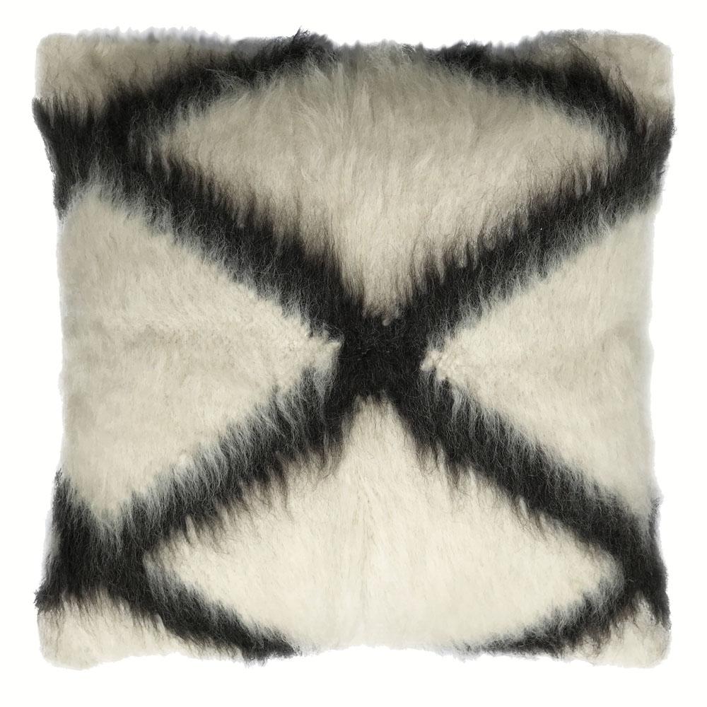 Coussin de sol 100% laine traverser 90x90