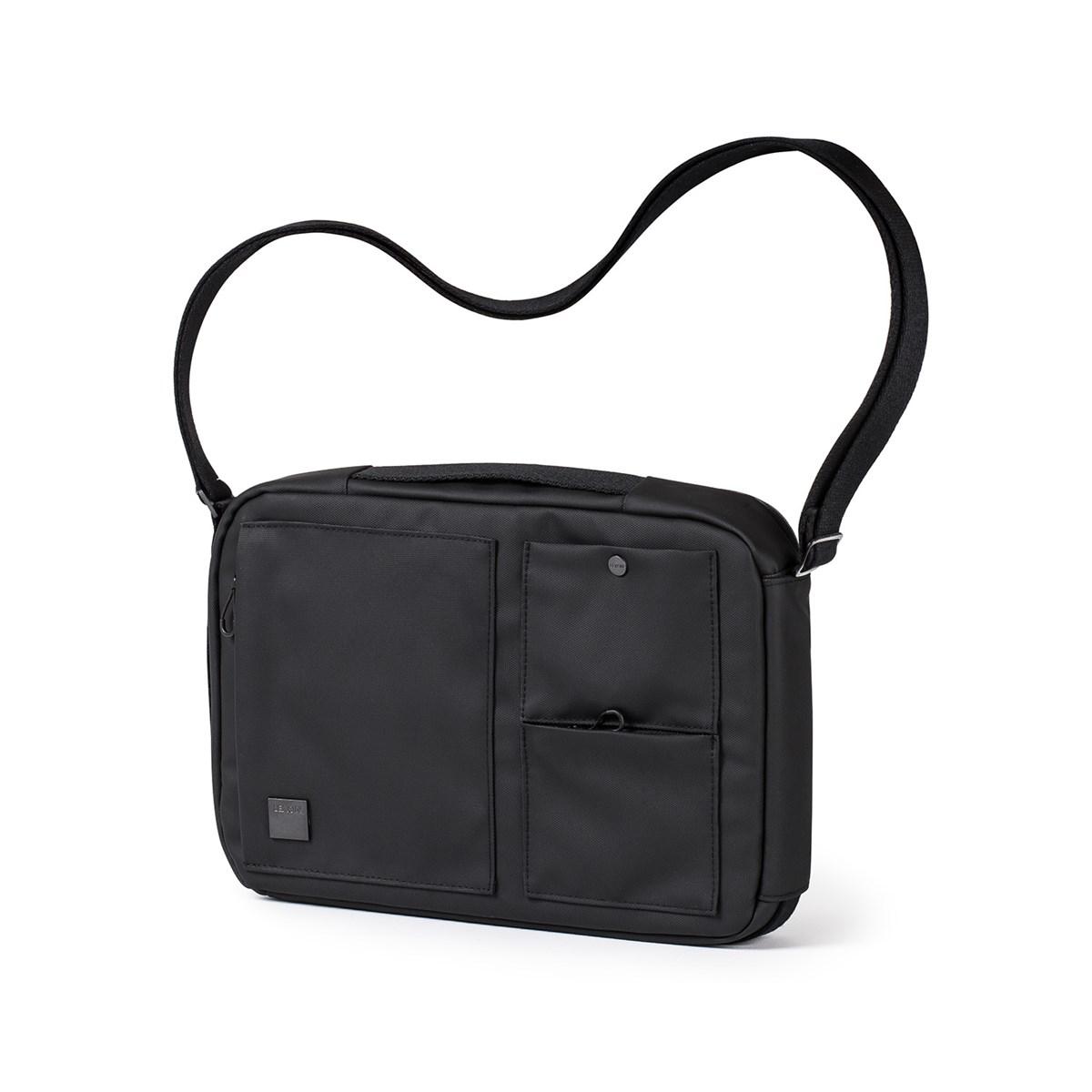 Sac bandoulière et sac à dos en Polyester Noir