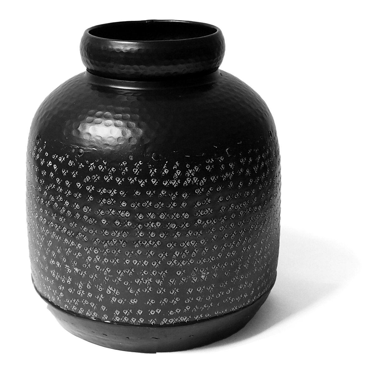 Bonbonne en aluminium  noir