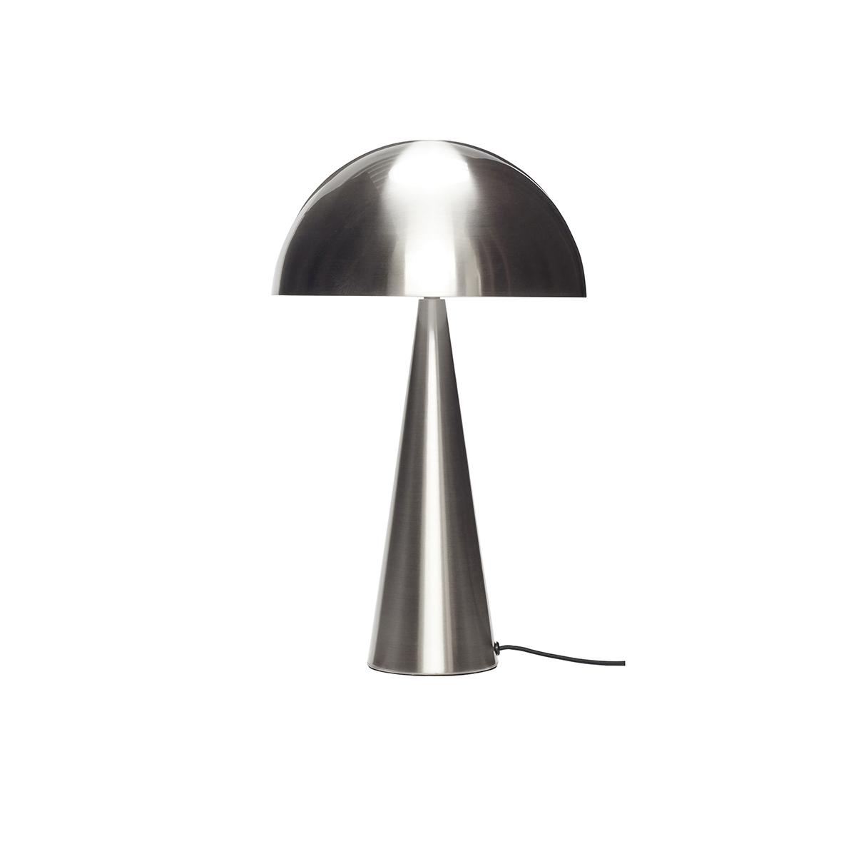 Lampe de table en nickel H51