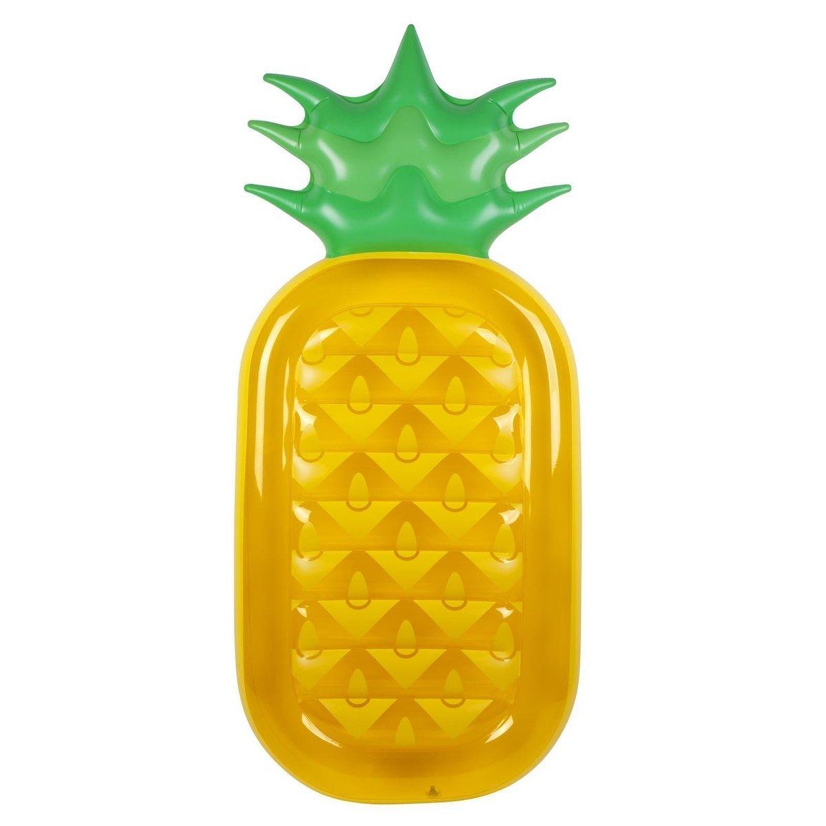 Matelas gonflable ananas en pvc