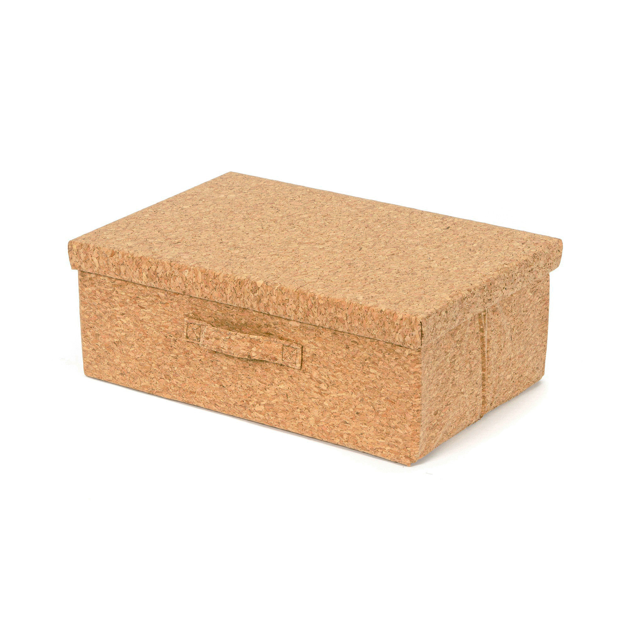 Boîte de rangement en liège 38x26cm